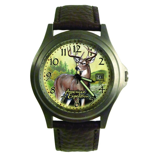 American Expedition Whitetail Deer Wrist Watch
