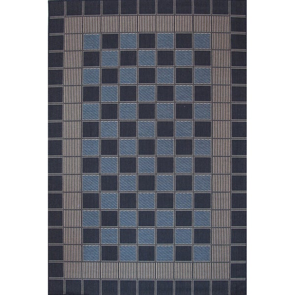 Aster Checkered Area Rug (5'x8')