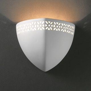 Ambis Ceramic Bisque 1-light Wall Sconce