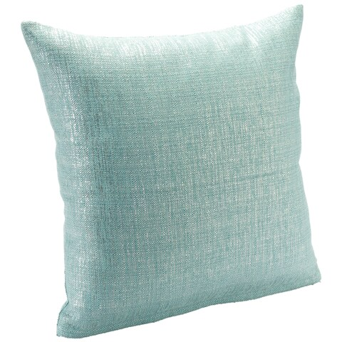 Silver Orchid Clift Sparkly Decorative Pillow