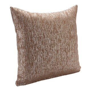 Silver Orchid Clift Sparkly Decorative Pillow (More options available)