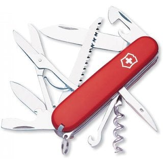 Victorinox Swiss Army Huntsman Red Pocket Knife