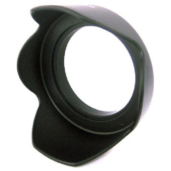 Zeikos ZE-HLH72 72mm Tulip Hard Rubber Lens Hood