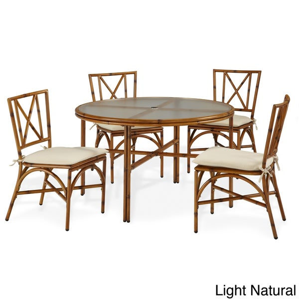 Bimini Jim 5 Piece Bamboo Look Dining Set By Home Styles