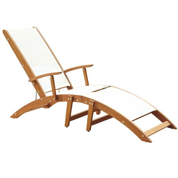 Bali hai chaise lounge chair by home styles free for Balinese chaise lounge