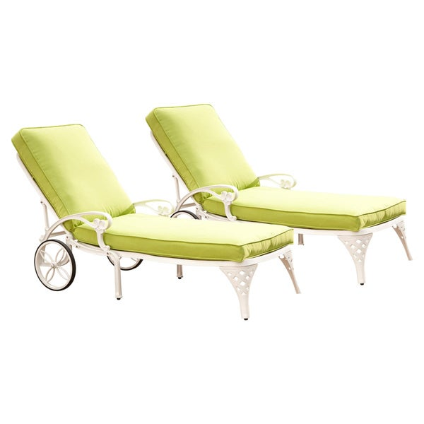 Chaise Lounge Styles: Shop Biscayne Chaise Lounge Chairs With Cushion By Home