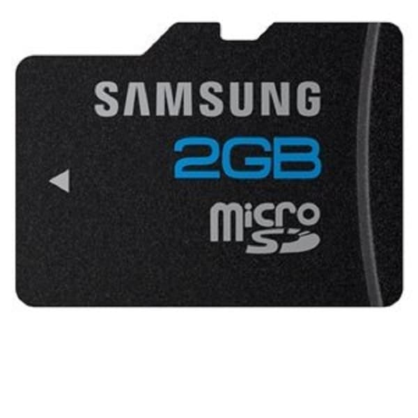 Samsung 2GB microSD Memory Card High Speed Series with microSD Adapter