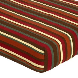 Sweet JoJo Designs Striped Fitted Crib Sheet