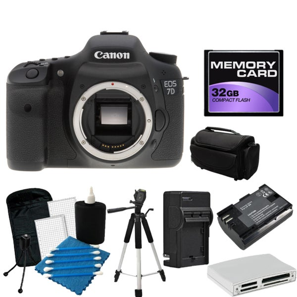 Canon EOS 7D Pro Digital SLR Camera Bundle