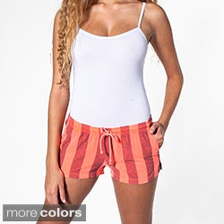 American Apparel Women's Drawstring Boat Shorts