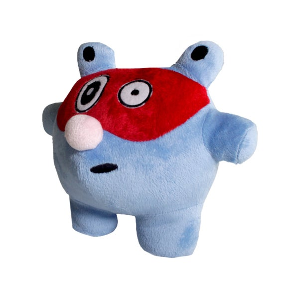 P-Jay Blue and Red Soft Plush Toy with Blanket