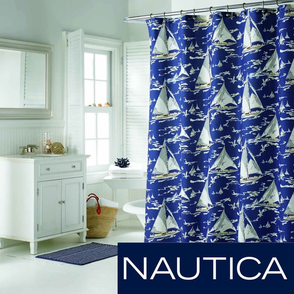 Shop Nautica Monterey Sail Shower Curtain