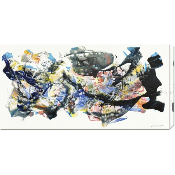 Global Gallery Nino Mustica 'Senza titolo 2012, I' Stretched Canvas Art