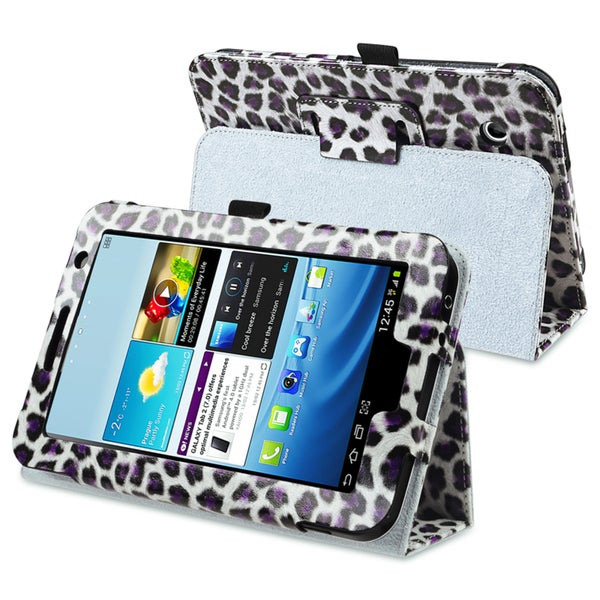 INSTEN Leather Tablet Case Cover with Stand for Samsung Galaxy Tab 2 7.0 P3100
