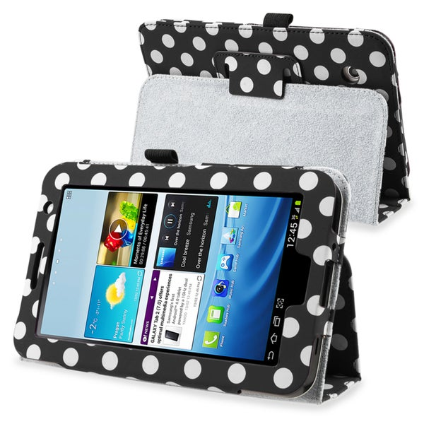BasAcc Leather Case with Stand for Samsung Galaxy Tab 2 7.0 P3100