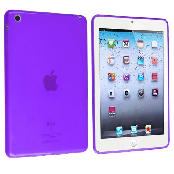 BasAcc Frost Clear Purple TPU Rubber Case for Apple® iPad Mini