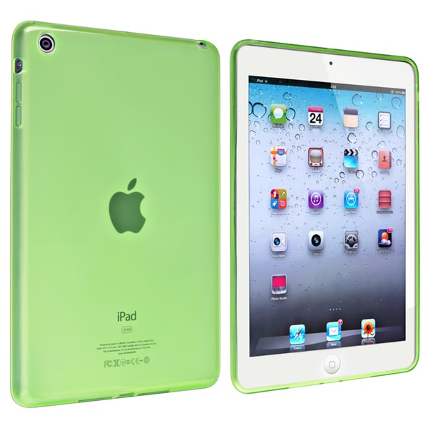 BasAcc Frost Clear Green TPU Rubber Case for Apple® iPad Mini