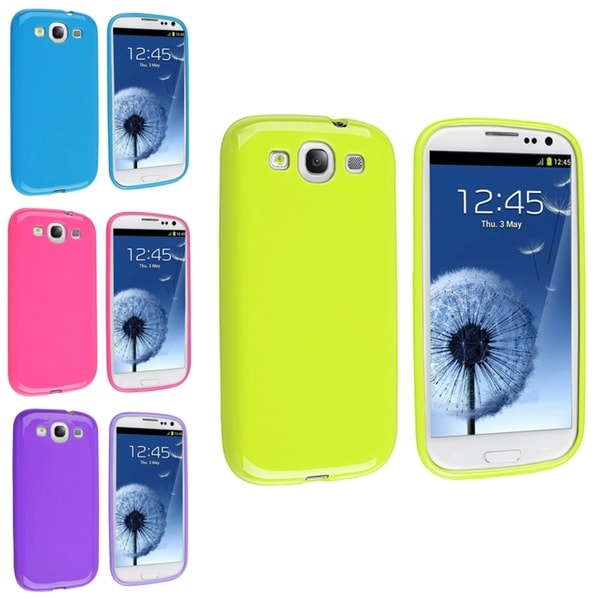 INSTEN TPU Phone Case Covers/ Protector for Samsung Galaxy S3/ SIII