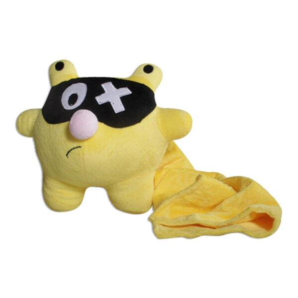 Bubele Patch Buddies Tony 7-inch Plush Toy with Blanket