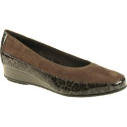 Women's ara Aron 45030 Leopard Patent/Taupe Suede