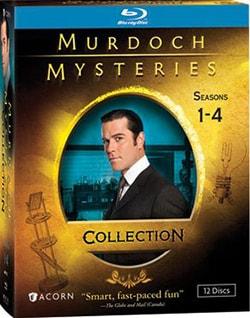Murdoch Mysteries Collection: Seasons 1-4 (Blu-ray Disc)