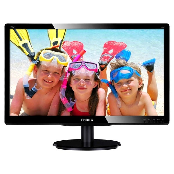 "Philips 190V4LSB 19"" LED LCD Monitor - 16:10 - 5 ms"