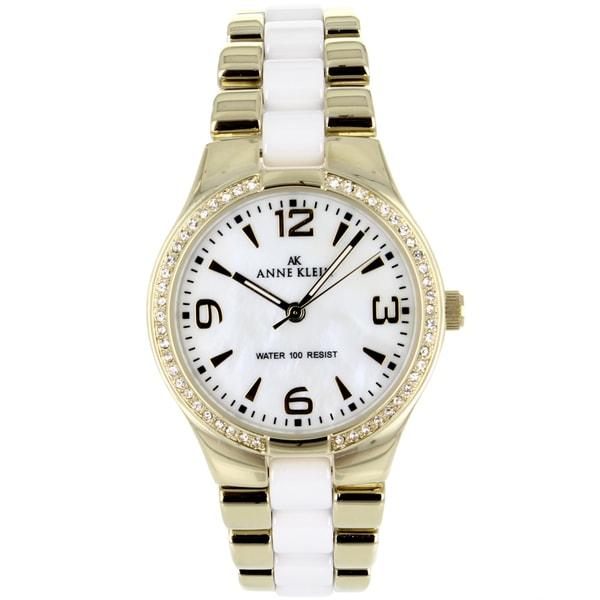 Anne Klein Women's Stainless steel Classic Watch