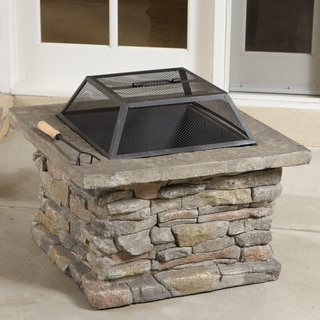 Corporal Square Fire Pit by Christopher Knight Home