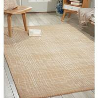 Nepal Manil Curved Lines Rug - 9'6 x 13