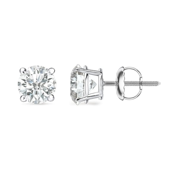 a round products jewelry collections jackson carat diamond large earrings hole prong stud