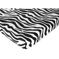 Sweet JoJo Designs Zebra Fitted Crib Sheet