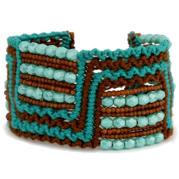 Marisol 'Island Path' Macrame Bracelet (Guatemala)