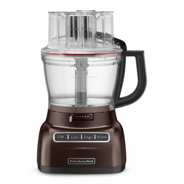 KitchenAid RRKFP1344ES Espresso 13-cup Architect Food Processor with Die-cast Base (Refurbished)