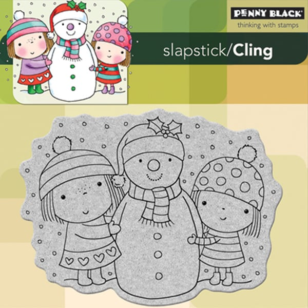 Penny Black 'Mimi, Besty and Snowy' Cling Rubber Stamp