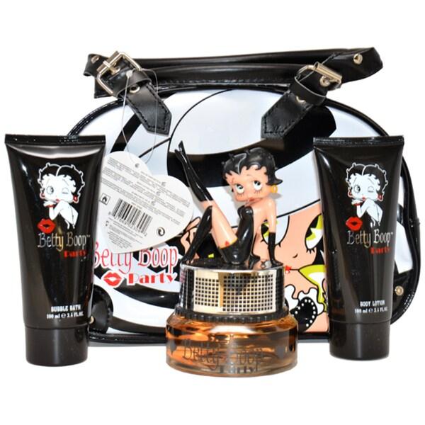 Betty Boop Party Women's 4-piece Gift Set