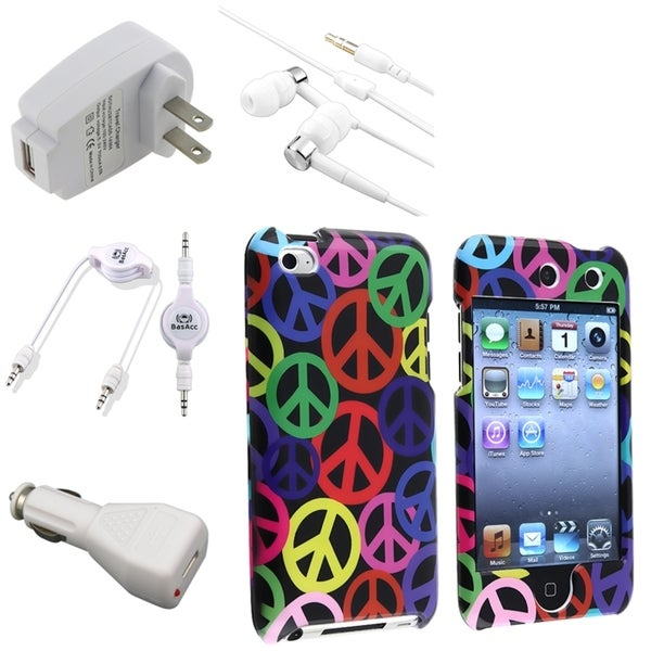 BasAcc Case/ Charger/ Headset/ Cable for Apple iPod Touch Generation 4