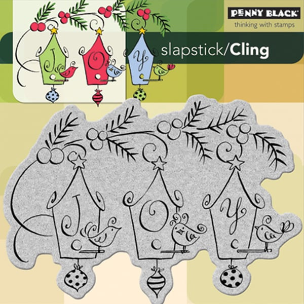 Penny Black 'Joyful Birds' Cling Rubber Stamp