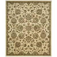 Hand-tufted Jaipur Ivory Rug (8'3 x 11'6)