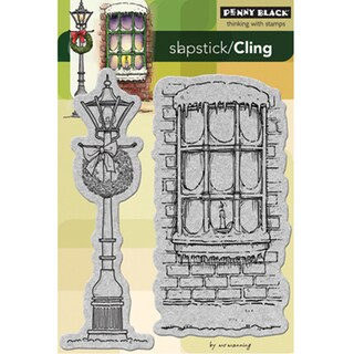 Penny Black 'Winter Illumination' Cling Rubber Stamp