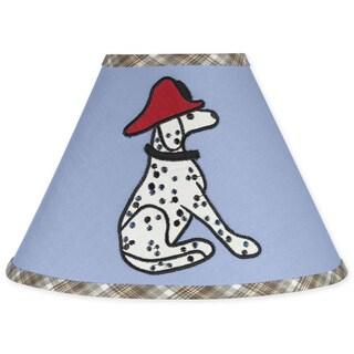 Sweet JoJo Designs Frankie's Firetruck Lamp Shade