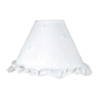 Sweet JoJo Designs White Eyelet Lamp Shade
