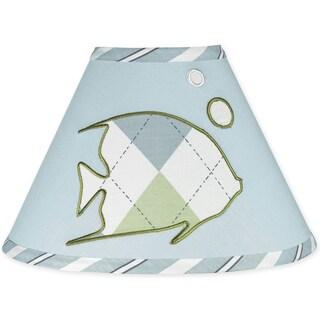 Sweet JoJo Designs Go Fish Ocean Fishing Lamp Shade