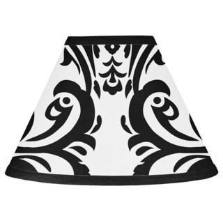 Sweet JoJo Designs Black and White Isabella Lamp Shade