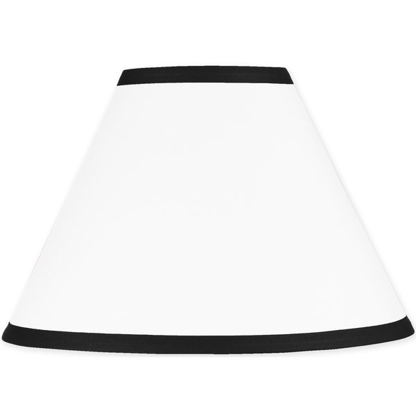 Sweet jojo designs hotel white and black lamp shade free shipping sweet jojo designs hotel white and black lamp shade aloadofball Image collections