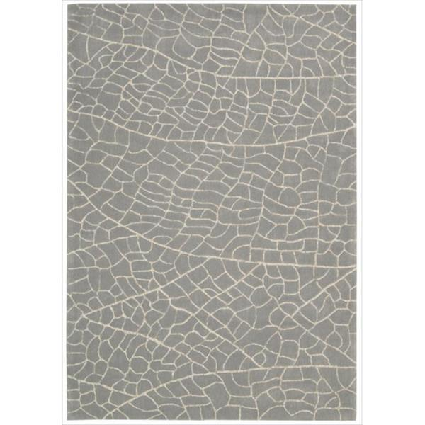 Hand-tufted Escalade Granite Blend Rug - 5' x 7'6