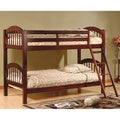 Arched Twin Esprit Cherry Finish Bunk Bed