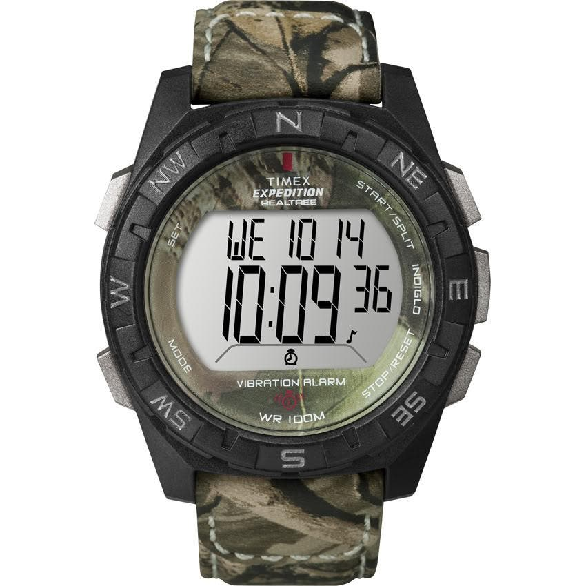 47b4e87cf Shop Timex Men's Expedition Vibration Alarm Camo Watch - Free ...