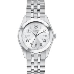 Swiss Army Men's 'Alliance' Stainless Steel Silver Dial Watch