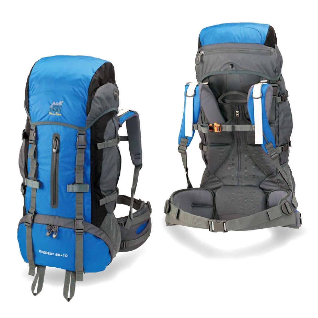 High Peak Everest 60 + 10 Internal Frame Backpack