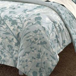 Shadow Field 3-piece Full/ Queen-size Mini Comforter Set - Thumbnail 1